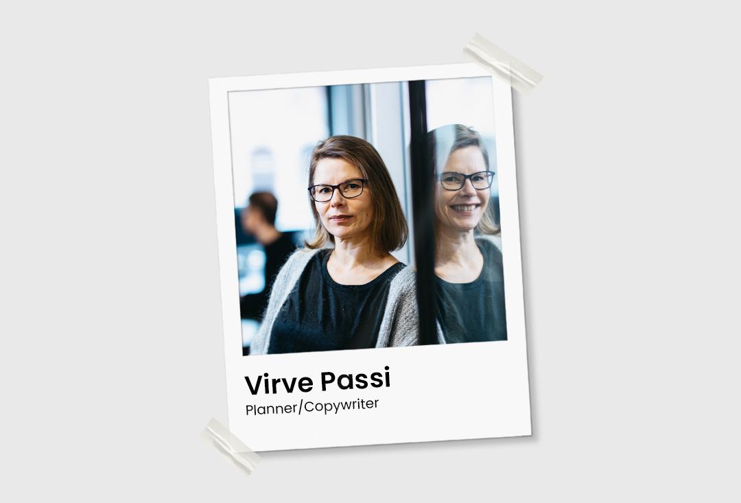 Virve Passi Planner/Copywriter OSG Agency